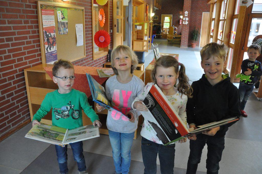 Bücherecke Kindergarten St. Marien Oythe